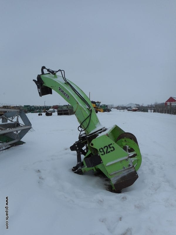 Snow Blower Found : Schulte rdx ft rbl gratton coulee agri parts